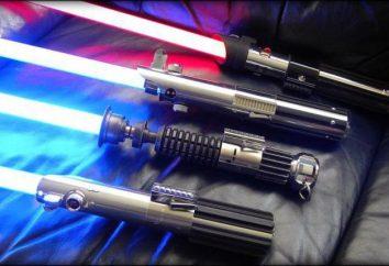 Como fazer um espadas Jedi com suas próprias mãos: instruções de montagem