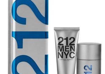 """""""212 Homens» – perfume verdadeiramente masculino!"""