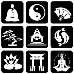 symboles bouddhistes et leur signification. Black Bedroom Furniture Sets. Home Design Ideas