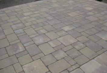 Carreaux de trottoir en sable polymère: composition, application, caractéristiques techniques