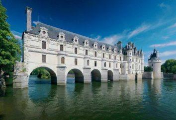 Chateau de Chenonceau. Frankreich Attraktionen: die mittelalterlichen Burgen