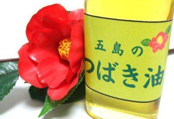l'huile de camélia: propriétés et composition