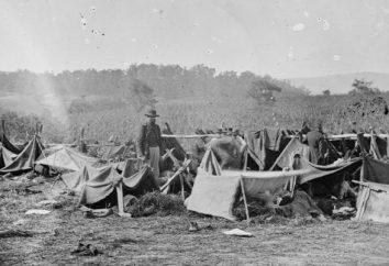 A guerra civil entre o Norte e América do Sul. As causas da guerra de 1861-1865