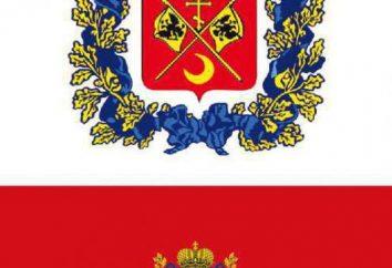 Flaga i herb obszarze Orenburg: opis i historia