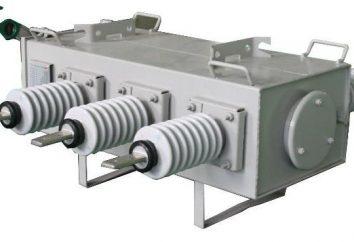 Przełączniki elektryczne gazowe: opis, oznaczenie