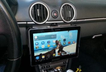 Tablet dans les voitures: un examen, les modèles, les caractéristiques et les examens. Comment installer la tablette dans les voitures