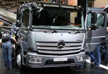 """""""Mercedes Atego"""" – caminhão poderoso e confiável que não vai deixar"""