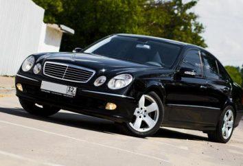 """Charakterystyka pojazdu """"Mercedes E320"""" w tył W211"""