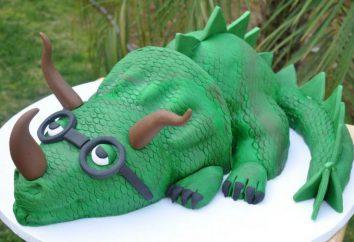 Kuchen mit Dinosaurier – ein leckeres und originelles Geschenk