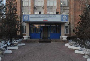 Akademia FSIN (Riazań): wydziały. Wszystkie informacje na temat Akademii Prawa i karny zarządzanie FS