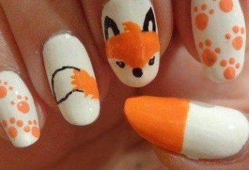 Come fare un manicure autunno con una volpe?