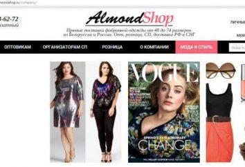 """tienda de ropa femenina en línea """"Almendra"""": opiniones de clientes"""