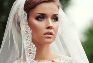 Hochzeit Bild der Braut und des Bräutigams: Ideen, Zubehör und Beschreibung