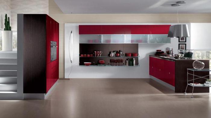 Il pannello a parete alla cucina. Installazione di pannelli a muro ...