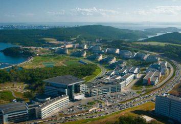 FEFU: wydziały i specjalności. Far Eastern University Federal: Opinie