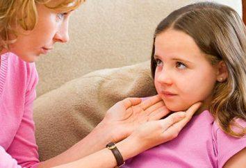 Ostre i przewlekłe zapalenie gardła. Leczenie dziecka
