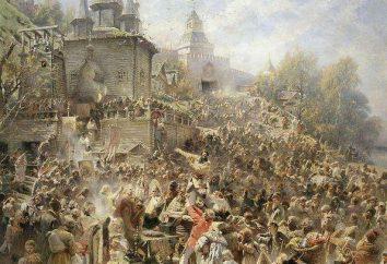 Distemper en Russie au début du 17ème siècle: causes, conséquences, étapes
