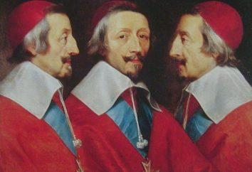 Kardynał Richelieu: biografie postaci historycznych
