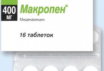 """""""Macropen"""": análogos, instrucciones de uso, bienes"""
