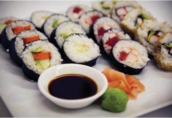 Wie wird die Vorbereitung Sushi zu Hause: einfache Geheimnisse