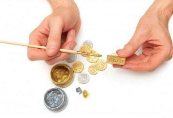 Wie eine Fälschung aus dem Gold zu Hause unterscheiden: Eigenschaften, Beratung
