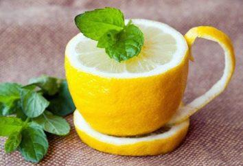 eau de citron pour la perte de poids: la recette (photo)