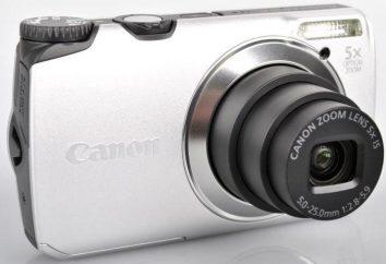Câmera Digital Canon PowerShot A3300 IS: Especificações, instruções, comentários