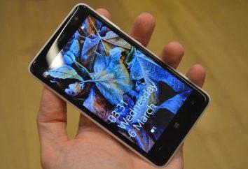 Teléfono inteligente Nokia Lumia 625: Características, especificaciones y capacidades del dispositivo