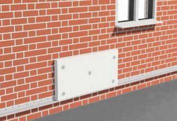 isolation de façade Penoplex: technologie de montage