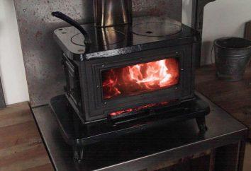 Four chalets en bois. Types et classification des poêles à bois pour les chalets de chauffage