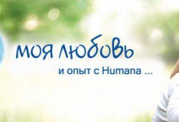 "Mieszanina ""Humana"" (Humana): rodzaj kompozycji, opinie. Mieszanina ""Humana"" Baby"