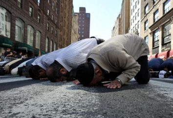 Islam: les vacances (la liste). Vacances importantes de l'islam et ses traditions