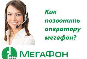 """Operator """"Megafon"""": jak zadzwonić lub skontaktować się z firmą"""