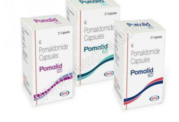 """""""Pomalidomide"""" (iminovid): precio, análogos. ¿Qué tan barato es comprar Imnovid?"""