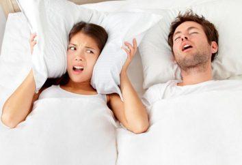 L'apnée du sommeil: causes, symptômes, traitement des remèdes populaires. syndrome d'apnée du sommeil