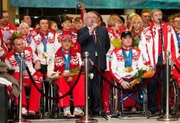 Znany rosyjski Paralympians