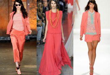 ¿Qué colores se combinan con el color coral? Pedir al estilista!