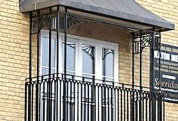 Przyłbica na balkonie: opis, rodzaje możliwości instalacji
