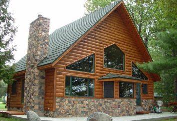 Metallo block-house: caratteristiche, foto, installazione
