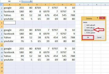 Comment supprimer des lignes vides dans Excel: quelques méthodes simples