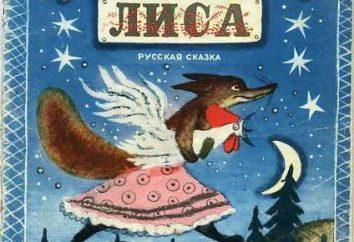"""Fiaba """"Puss, gallo e una volpe."""" Imparare a leggere con attenzione"""