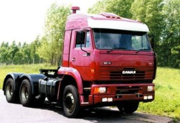 Kamaz-6460 – tractores fiables