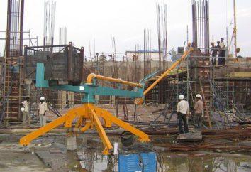 boom di Betonoraspredelitelnaya – le attrezzature necessarie per la costruzione del sito