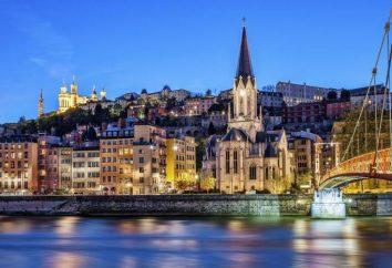 Atrações Lyon: descrição dos sítios culturais mais proeminentes