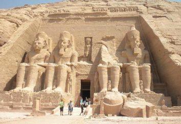 Abu Simbel. Tempio costruito in Egitto Ramses 2