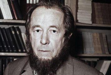 Brève biographie et œuvres d'Solzhenitsyna Aleksandra Isaevicha