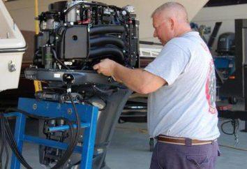 Cómo aumentar la potencia del motor fuera de borda? Marca de motores fuera de borda, características, combustible