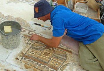 1500 lato mozaika, odkryta w Izraelu, zawiera mapę starożytnych egipskich osiedli