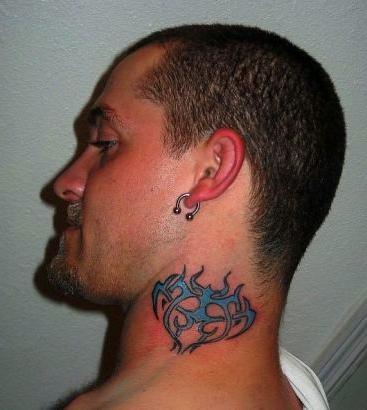Tatuaż Męska Na Szyi I Typy Wartości