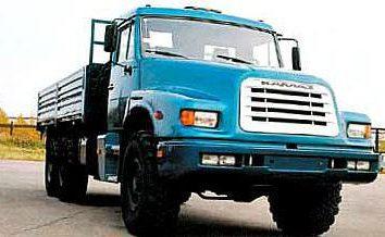 """Kamaz-4355 – o primeiro caminhão saiu do """"nariz"""""""